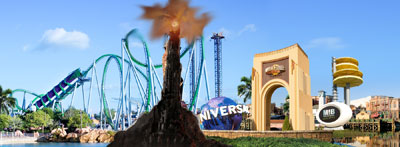 Barad-dur in Universal Orlando