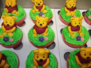 Winnie the Pooh 3d Cupcakes