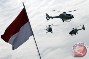 Aksi aerobatik meriahkan ulang tahun TNI AU