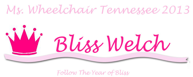 Ms Wheelchair Tennessee 2013 Bliss Welch