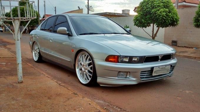 """Mitsubishi Galant Rebaixado Rodas 20"""""""