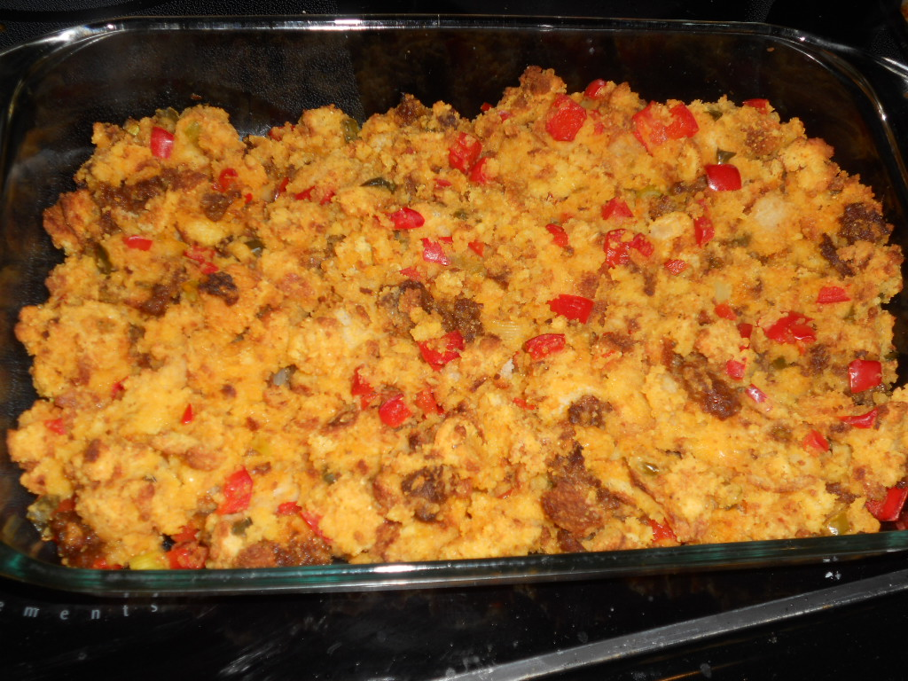 Cornbread, Chorizo, and Jalapeno Stuffing is great for Thanksgiving ...