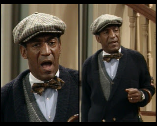 Cosby Show Huxtable fashion blog Cliff Bill Cosby