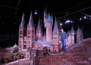 Miniature Model Kastil Hogwarts