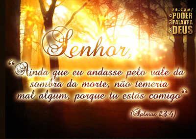 O Senhor está comigo
