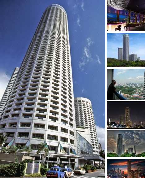 10 tallest 5 star hotels of the world hotels of the world for Tallest hotel in singapore