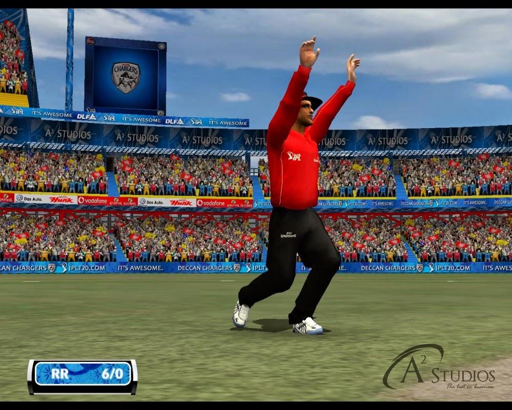 EA SPORTS CRICKET : PEPSI IPL6 - blogspotcom