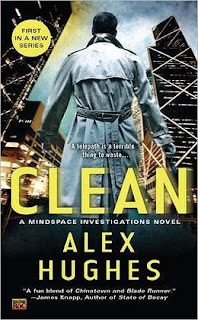 Clean by Alex Hughes (Mindspace Investigations #1)