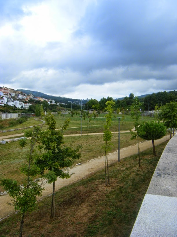 Zona Verde do Parque da Cidade de Vale de Cambra