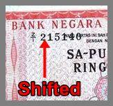 Banknotes Errors