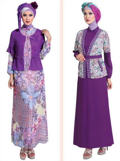 Desain Baju Muslim Gamis Pesta