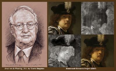Ernst van de Wetering. Rembrandt Research Project. RRP. by Travis Simpkins