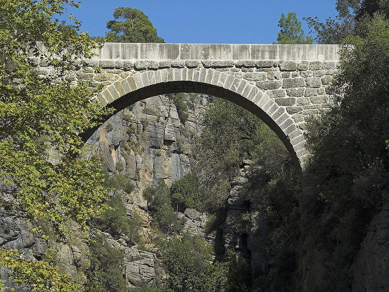 Eurymedon Bridge  Selge  Turkey Roman Bridges