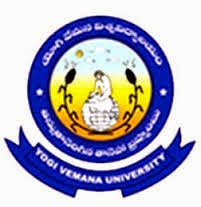 Yogi Vemana University Time Table 2016