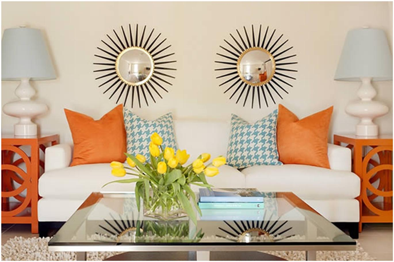 Artika Wool Dining Chairs Set 2 Orange 2 Teal Artika A Orange. Filed Under: Living  Room ... - Teal And Orange Living Room Decor – Living Room Design Inspirations