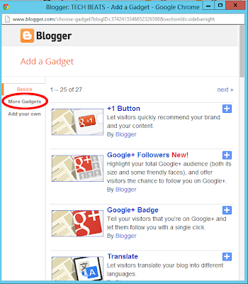 ga1 How to get back your GFC Followers gadget on blogger