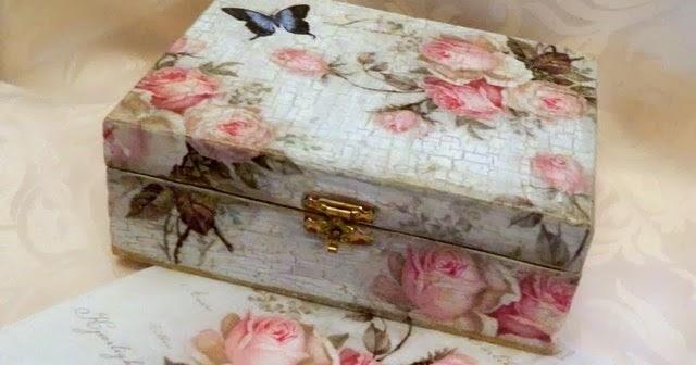 Kimber Kreations Vintage Decoupage Box