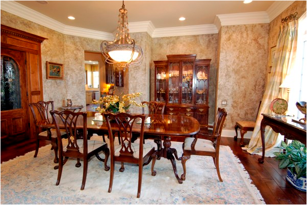 Key interiors by shinay french country dining room design