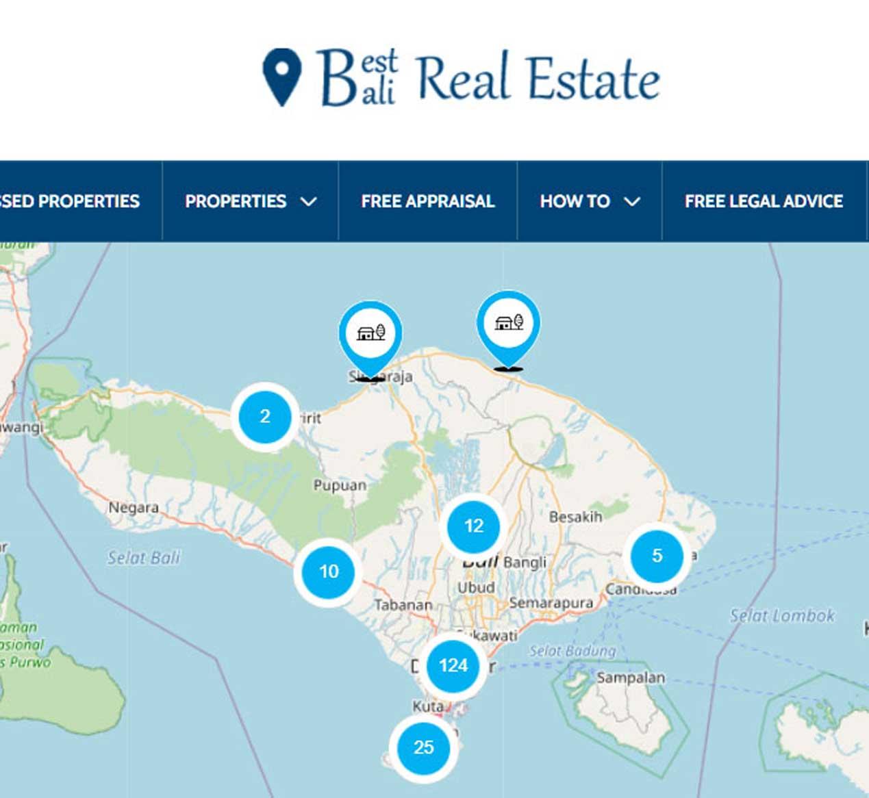Best Bali Real Estate