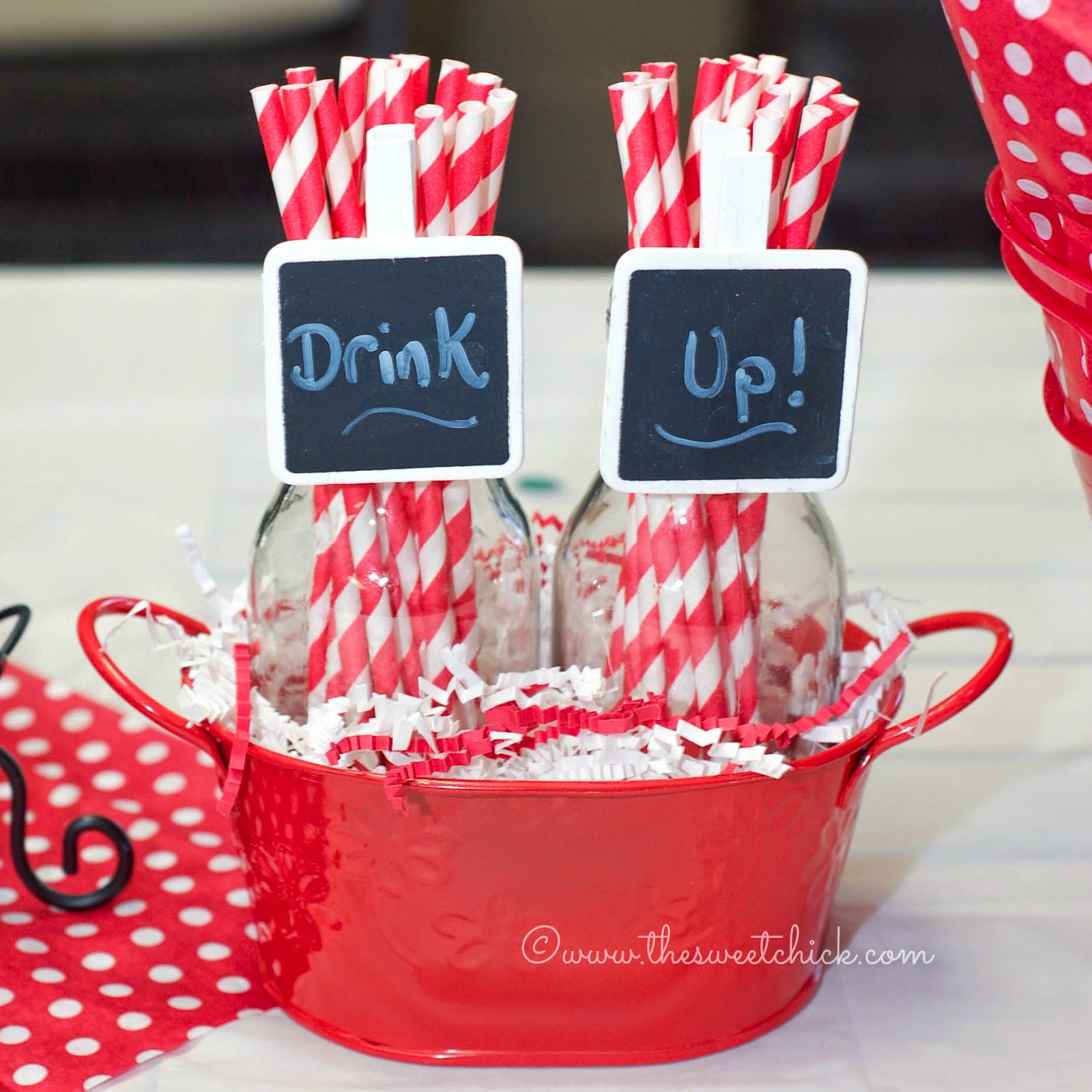 Party Straws by The Sweet Chick