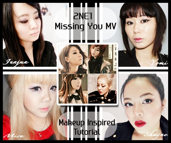 2ne1 missing you makeup