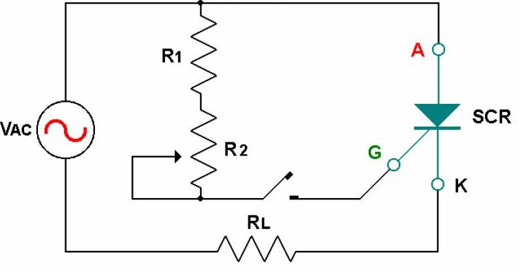 electronica de control y potencia  scr y triac