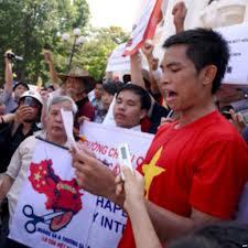 Biểu tình, tuổi trẻ yêu nước, chống TQ