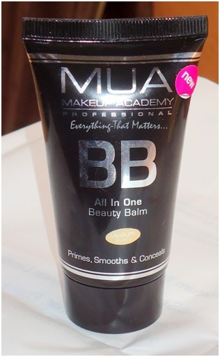 Make Up Academy (MUA) BB Cream: Swatches And Review