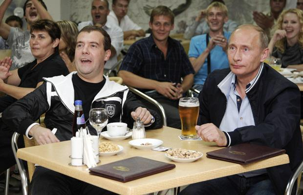 Dmitry Medevev and Vladamir Putin are gay
