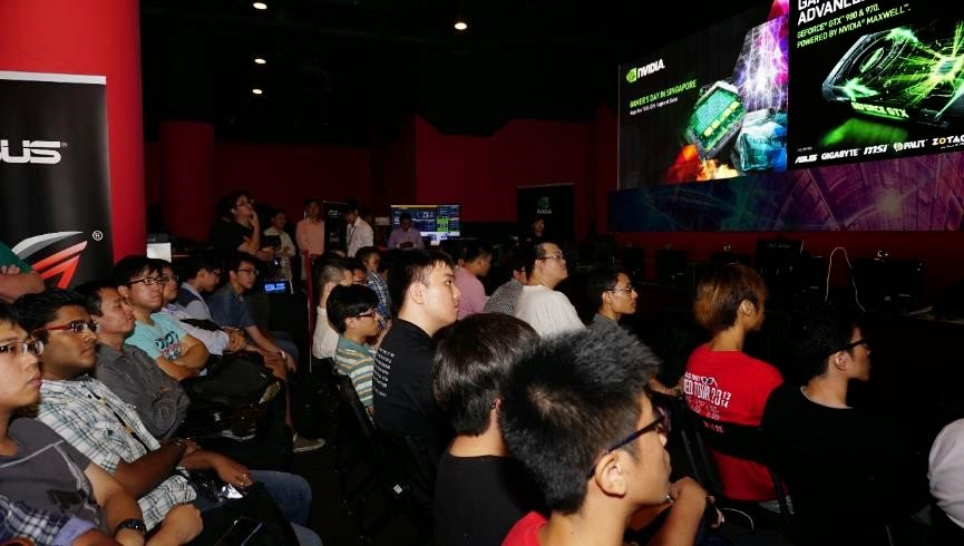 NVIDIA Gamer's Day event