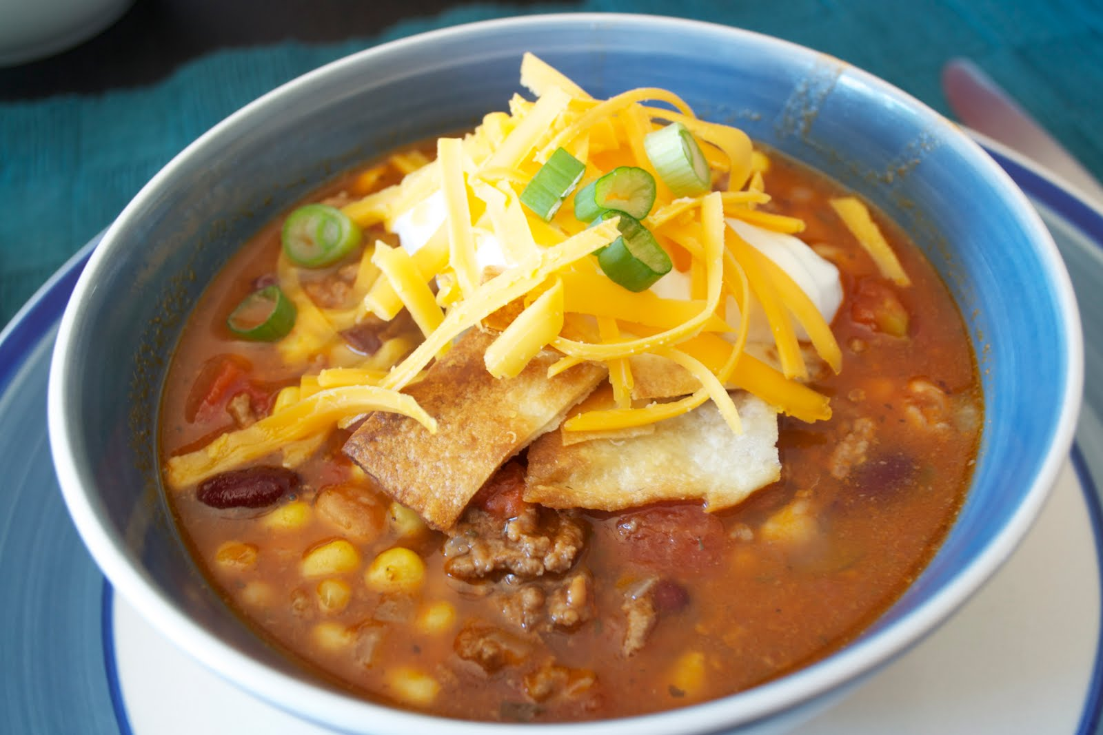 Equal Opportunity Kitchen: Taco Soup