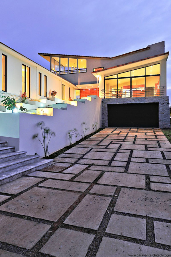 Outside of luxury-villas