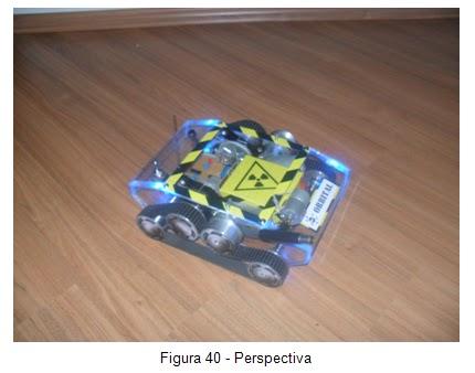 Perspectiva -  Veículo movido por esteiras Orbital