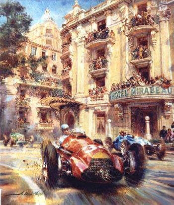 A 61 años del primer triunfo de Juan Manuel Fangio a los ases europeos
