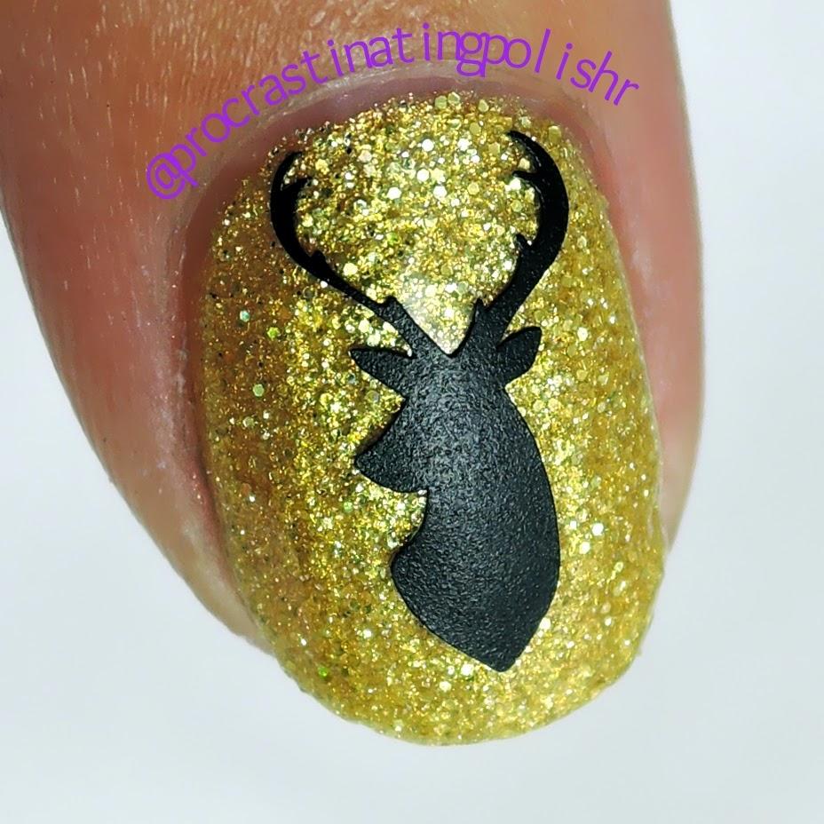 Mckfresh Elk vinyl nail decals