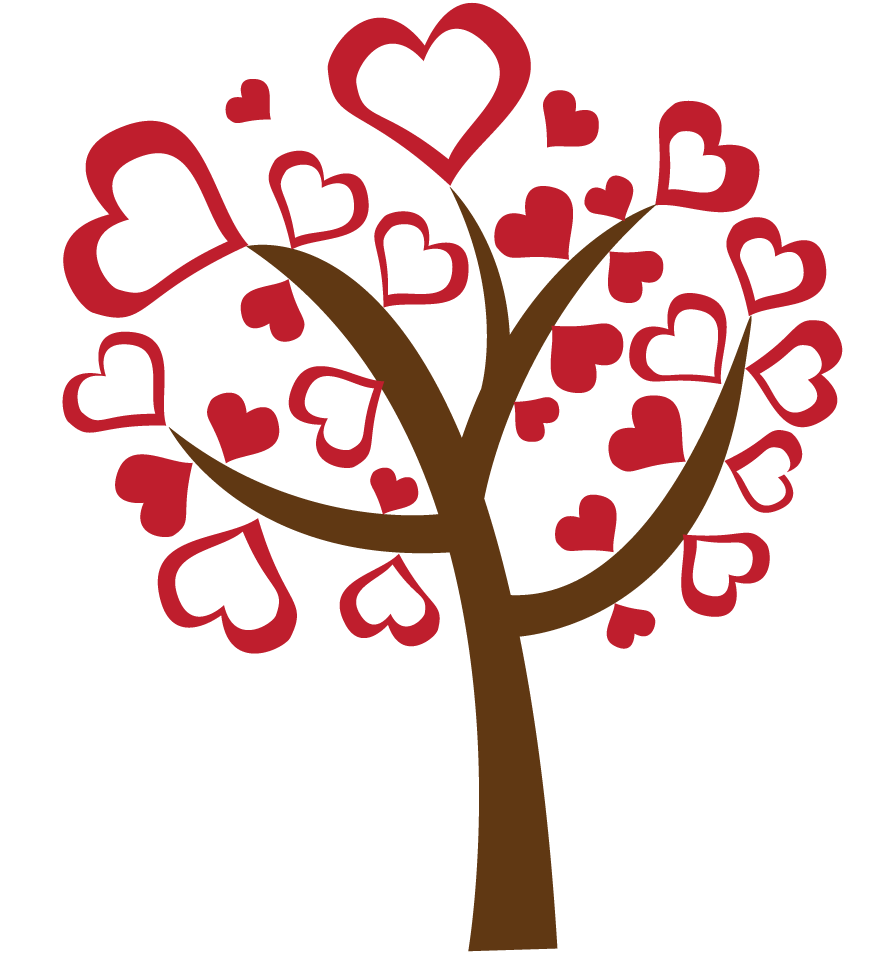 Graphic Vector Collection: Love Tree