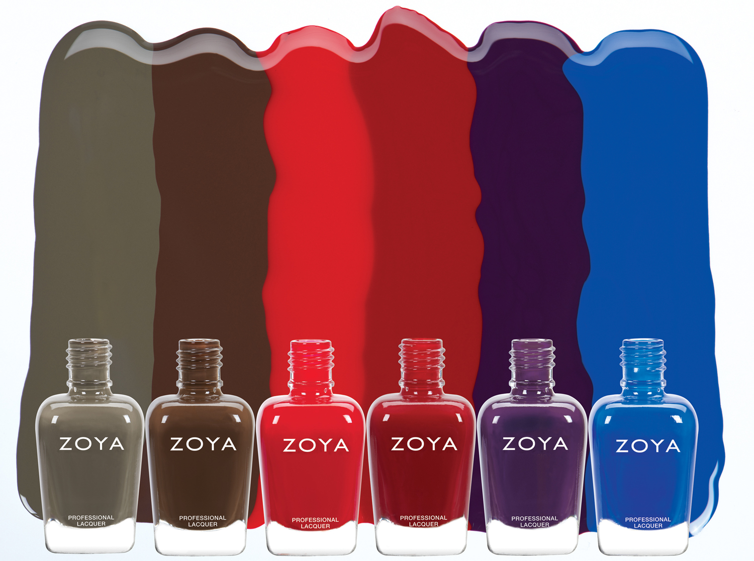 Zoya Focus Collection via @chalkboardnails