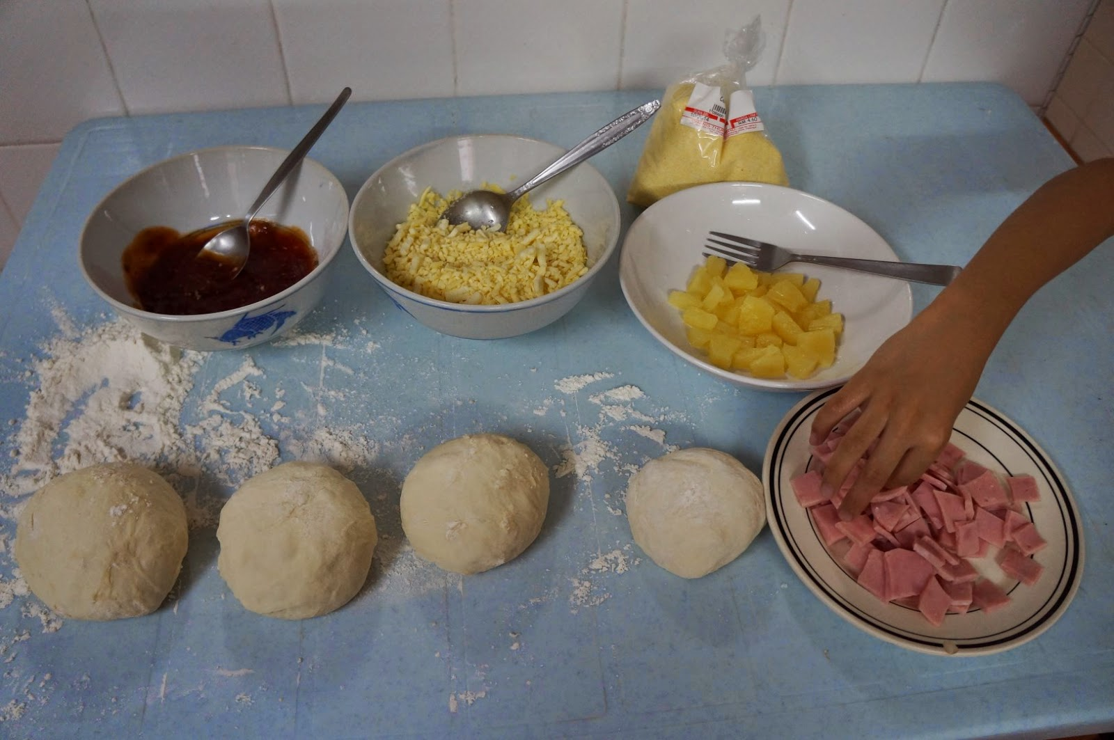 Jim Lahey's No Knead Pizza Dough Ingredients