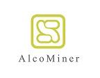 Logotipo de AlcoMiner tienda online de minerales, gemas y terapias alternativas