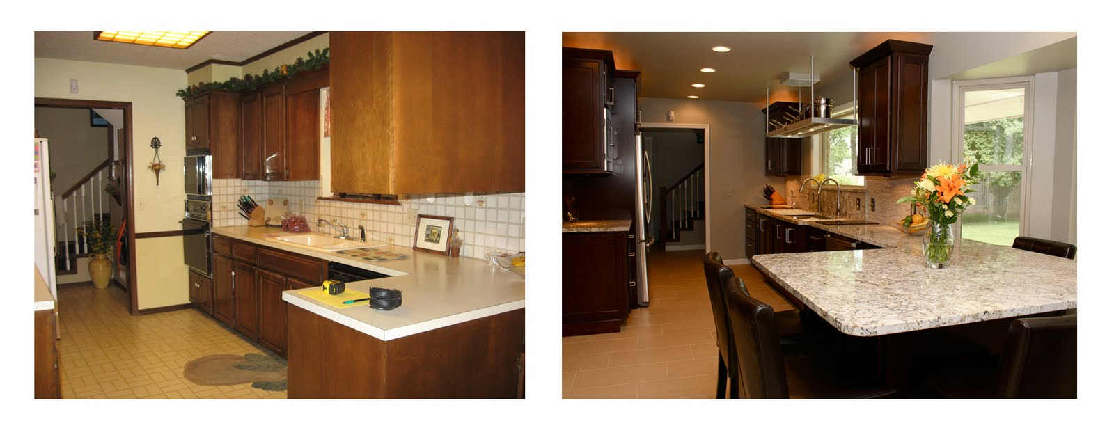 Opening A Galley Kitchen Up 100  Open Galley Kitchen Designs   Track Lighting U2026