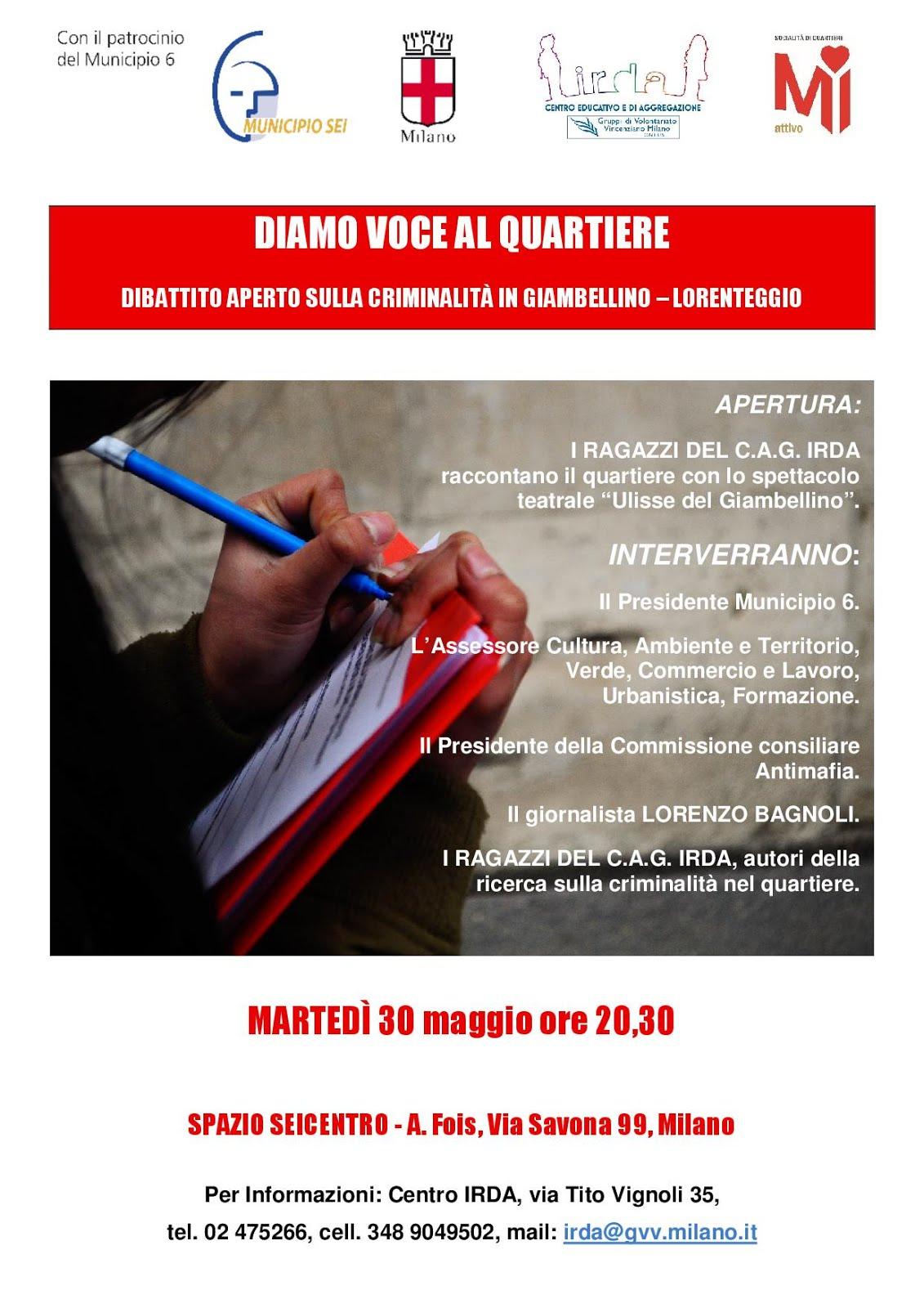 30 maggio - Giambellino