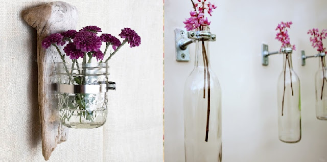Vases on the Wall Ideas