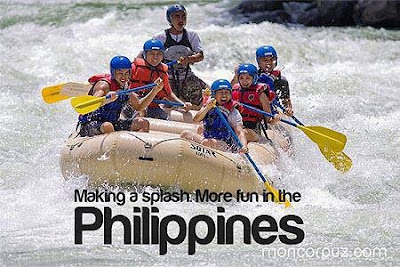 Wild Water Rafting in Davao