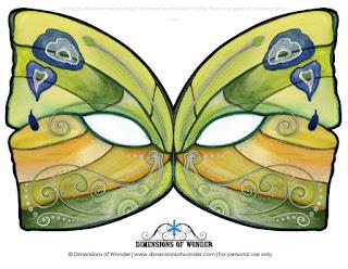 Каронавальная маска-бабочка