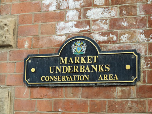 Stockport Little Underbank Conservation Area