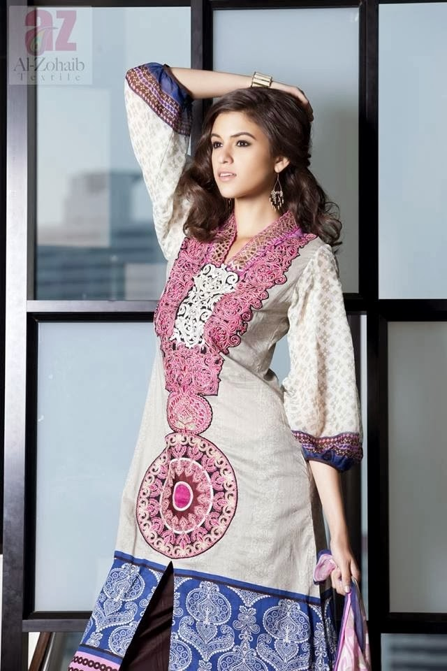 Al Zohaib Textile Spring Lawn Prints Collection