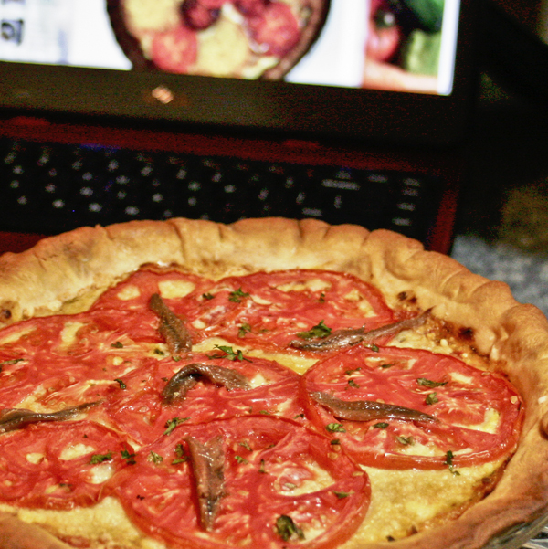 Provencal Tomato Quiche