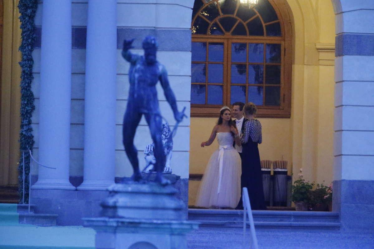 Princess madeleine smoking wedding