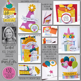 New ~ LIFE of the PARTY BIrthday Cards