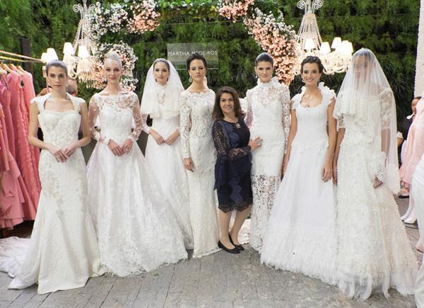 Martha Medeiros vestidos de noivas artesanais